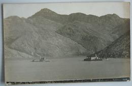 MONTENEGRO - OTOCICI KOD PERASTA - ORIGINAL FOTO LAFOREST 1906 - Montenegro