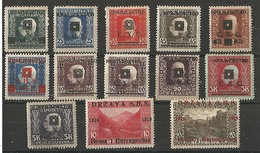 Timbres De Bosnie -herzegovine - 1919-1929 Regno Dei Serbi, Croati E Sloveni