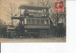 PARIS SALON DE L'AUTOMOBILE Monibus Delahaye 1909 - Exhibitions