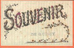 18 Souvenir De QUINCY - Frankreich