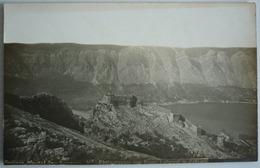 MONTENEGRO - CATTARO CASTEL SAN GIOVANNI - ORIGINAL FOTO LAFOREST 1905 - Montenegro