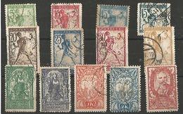 1919 Serie De Ljubljana - Used Stamps