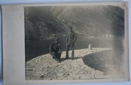 MONTENEGRO - DOBROTA  - ORIGINAL FOTO 1917 , K.U.K. SOLDIERS - Montenegro