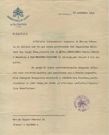 """""""SEGRETERIA DI STATO DI SUA SANTITA"""" VATICANO""""25 NOVEMBRE 1945,INFORMAZIONI SU MILITARE ITALIANO DECEDUTO IN GERMANIA,RR - 1939-45"""