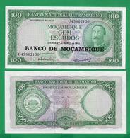 MOZAMBIQUE - 100  ESCUDOS - 1961 – UNC - Mozambique