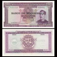 MOZAMBIQUE - 500  ESCUDOS - 1967 – UNC - Mozambique