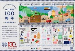 Japan - 2019 - ILO International Labour Organization Centenary - Mint Souvenir Sheet - 1989-... Emperador Akihito (Era Heisei)