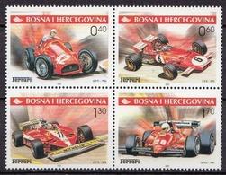 Bosnia MNH Ferrari, Formula-1 Set - Cars