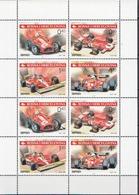 Bosnia MNH Ferrari, Formula-1 Sheetlet - Cars
