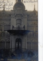 CPA -  Carte Photo - ALGERIE - Villa De Mr Villiembrales à Sidi Bel Abbès -  1917 - Sidi-bel-Abbès
