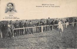 CPA BOUIN En Course - Recordman De France De L' Heure ( 18.267 ) - Leichtathletik