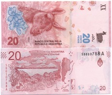 Argentina - 20 Pesos 2017 UNC Lemberg-Zp - Argentina