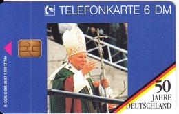 GERMANY - 50 Jahre Deutschland/Papst Johannes Paul II(2)(O 985), Tirage 1500, 09/97, Mint - O-Series: Kundenserie Vom Sammlerservice Ausgeschlossen