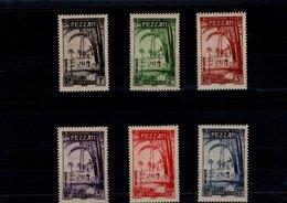 Fezzan Taxe N° 6 à 11 Série De 6 Timbres Neufs** Timbres Taxe - Ongebruikt