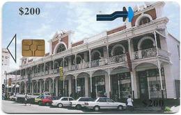 Zimbabwe - PTC - Bulawayo Gallery - 200Z$, Chip Gem Black, Exp. 12.2001, 200.000ex, Used - Zimbabwe