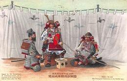 CPA The Triumphal Celebration In The Middle Ages - Japon - Japon