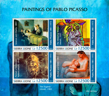 SIERRA LEONE 2019 - Picasso, Doctor. Official Issue - Medicine