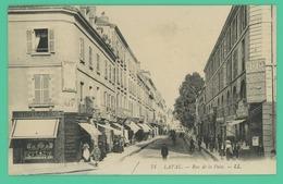 Laval - Mayenne - Rue De La Paix - Animée - - Laval