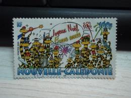 Timbre Nouvelle-Calédonie Joyeux Noël, Bonne Année - Neukaledonien