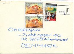 Libya Registered Cover Sent To Denmark 20-4-1987 - Libya