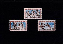 Haute Volra N° 104 à 106 Série De 3 Timbres Neufs** - Haute-Volta (1958-1984)