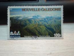 Timbre Nouvelle-Calédonie Paysages Régionaux - Chaîne Centrale 2002 - Usados