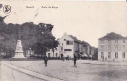 Hasselt Porte De L!ège Circulée En 1922 - Hasselt