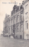 Tirlemont Marché Aux Laines Circulée En 1905 - Tienen