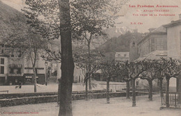 Carte Postale Ancienne De L'Ariège - Les Pyrénées Ariègeoises - Ax Les Thermes - Vue Prise Des Promenades - Ax Les Thermes