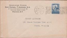ENVELOPPE TIMBRE 1925  MEXICO (D.F.) VOIR TIMBRES ET CACHETS - Mexiko