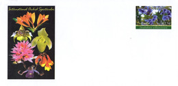 PAPUA & NEW GUINEA Papouasie & Nouvelle-Guinée Entier Postal Stationary Orchidée Orchen Orchid - Papua-Neuguinea