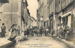 30 - Saint Jean Du Gard - Angle De La Grand Rue Et De La Rue Maréchal De Thoiras - Saint-Jean-du-Gard