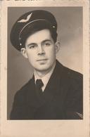 Carte Photo. : Portrait De Soldat ( Aviation ) - Uniformes