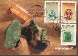 Brazil Set On Maximum Card - Minerals