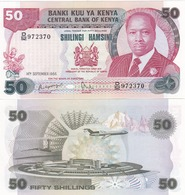 Kenya  - 50 Shillings 1986 AUNC Lemberg-Zp - Kenia