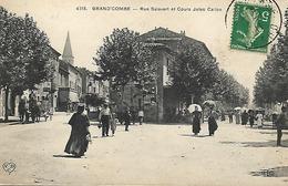 30 - La Grand Combe - Rue Salavert Et Cours Jules Callon - La Grand-Combe