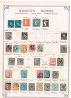 Maurice Mauritius Ancienne Collection Old Collection Altsammlung Oude Verzameling - Sammlungen (ohne Album)