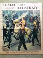 Il Mattino Illustrato 20 Dicembre 1937 Jommelli Port Royal Duce Spagna Nanchino - Autres