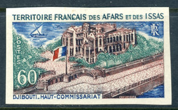 1969 French Territory Issas MH OG Imperforated High Value Stamp Yt. 348 Cat Euro 40, Very Scarce!! - Afars Et Issas (1967-1977)