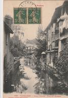 Carte Postale Ancienne De L'Ariège - L'Ariège - Lavelanet - Canal Riotor - Vieilles Maisons - Lavelanet