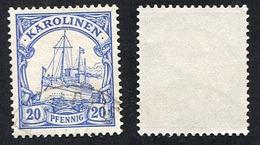 Allemagne, Colonie Allemande, Carolines, Karolinen, N°10 Oblitérés, Qualité TB - Colonie: Carolines