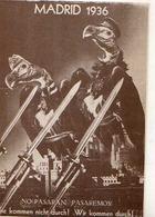 John HEARTFIELD , Madrid  1936, No Passarani Passaremos, Oiseaux Rapaces (vautours?), Armes Blanches - Altre Illustrazioni
