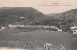 Carte Postale Ancienne De L'Ariège - L'Ariège - Aiguillon, Près Lavelanet - Vue Générale - Frankrijk