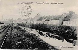 Alveringhem Vaart Van Forthem Canal De Forthem N°11 Voie De TRAM - Alveringem
