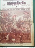 1928 RUGBY - FRANCE = ECOSSE - YVES DU MANOIR - Journaux - Quotidiens