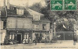 52 - Langres - Maison Pelletier - Café De La Promenade - Place Bel Air - Langres