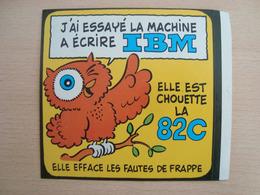 AUTOCOLLANT IBM 82C - Stickers