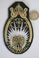 Ecusson Militaire 13° Régiment Dragons Parachutistes - Ecusson Tissu Patch - Scudetti In Tela