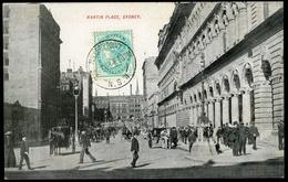 "AUSTRALIA MARTIN PLACE Sydney / Cancellation ""Miller's Point N.S.W. 22/FE/1908"" - Sydney"