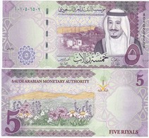 Saudi Arabia - 5 Riyals 2017 UNC Lemberg-Zp - Arabie Saoudite